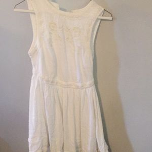 Free People Dresses - Free people birds of a feather in white xs